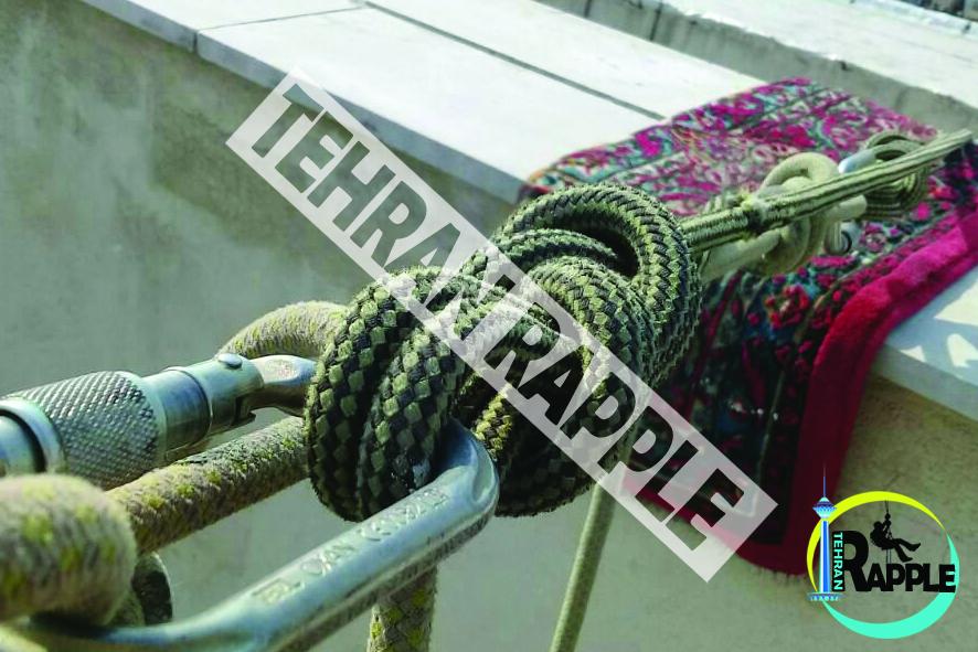 پیچ و روپلاک نما با طناب